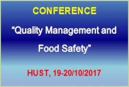CONFERENCE PROGRAM  QUALITY MANAGEMENT AND FOOD SAFETY - QMFS 2017